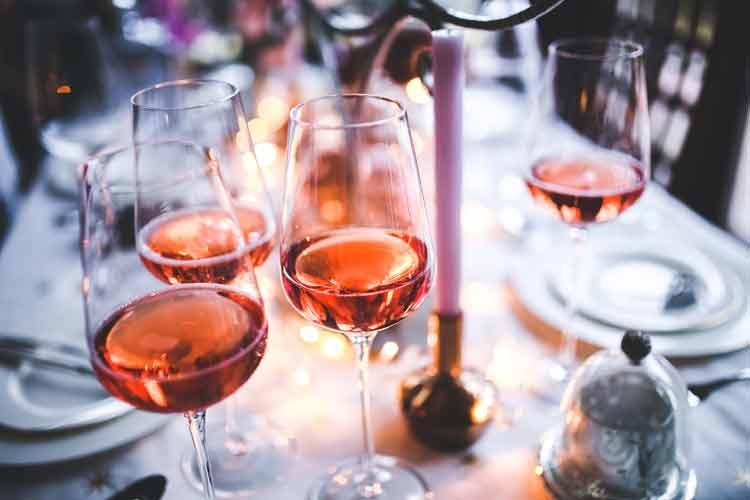 Rosé wijn Roeselare wijnen Sanders