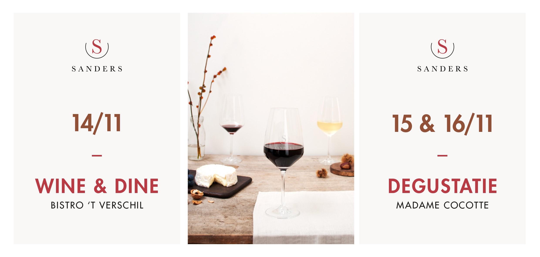 wine & Dine en Degustatie